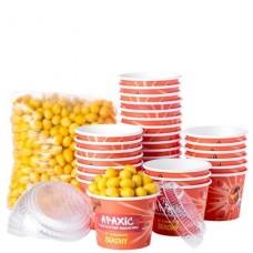 Арахис Crunchy, вкус Бекон, комплект с упаковкой, 1ящик (30порций)