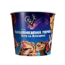 Стаканы для попкорна «Ледниковый период: Курс на столкновение 3D», V170