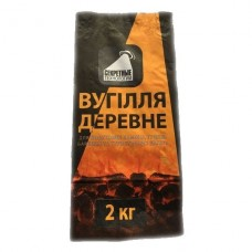 Бумажный мешок для угля, брикетов, 2.0 кг