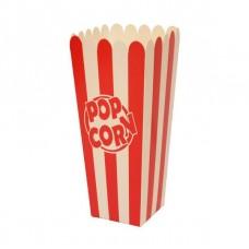Стакан для попкорна, V24, 0.7литра, красно-белый
