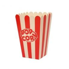 Стакан для попкорна, V32, 1.0литр, красно-белый